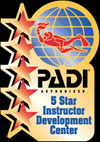 PADI 5 Star Gold Palm IDC
